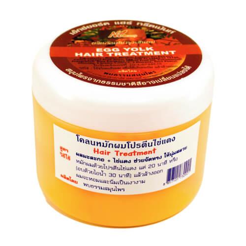 Маска для волос кокосовое масло и желток